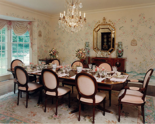 The Most Elegant Dining Room In Greenwich